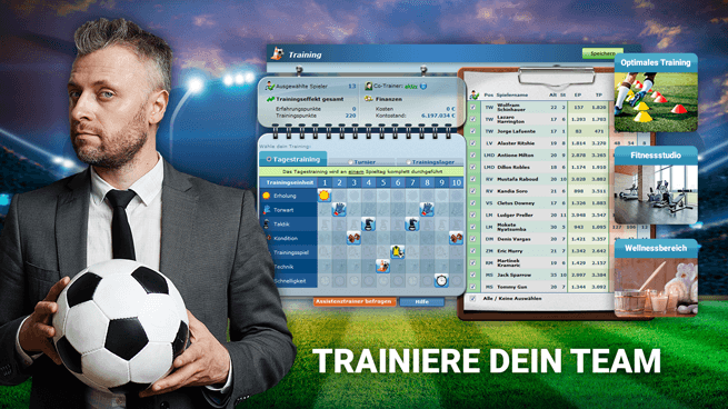 Screenshot Onlinefussballmanager.de